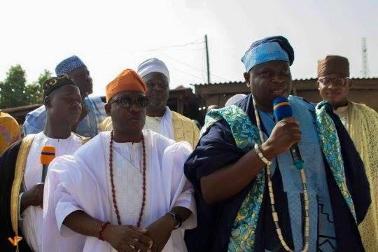 HRM Oba (Prof.) Adeyemi AbdulKabir Obalanlege celebrate the Eid-el-Fitr with the muslims on ramadan