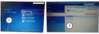 Cara Restore / Recovery File Backup Hardisk dan Partisi Acronis Menggunakan Bootable Acronis True Image