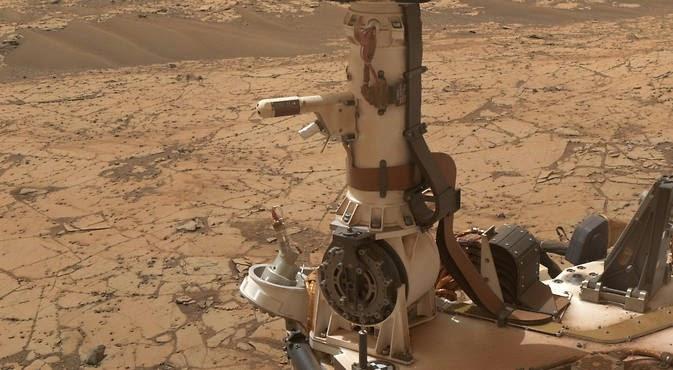NASA encontra água em Marte