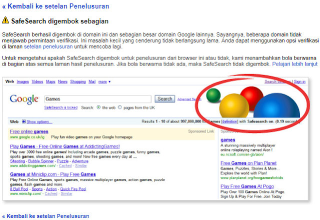 Cara Memfilter Hasil Penelusuran Google Agar Aman Bagi Anak Cara Memfilter Hasil Penelusuran Google Agar Aman Bagi Anak-Anak