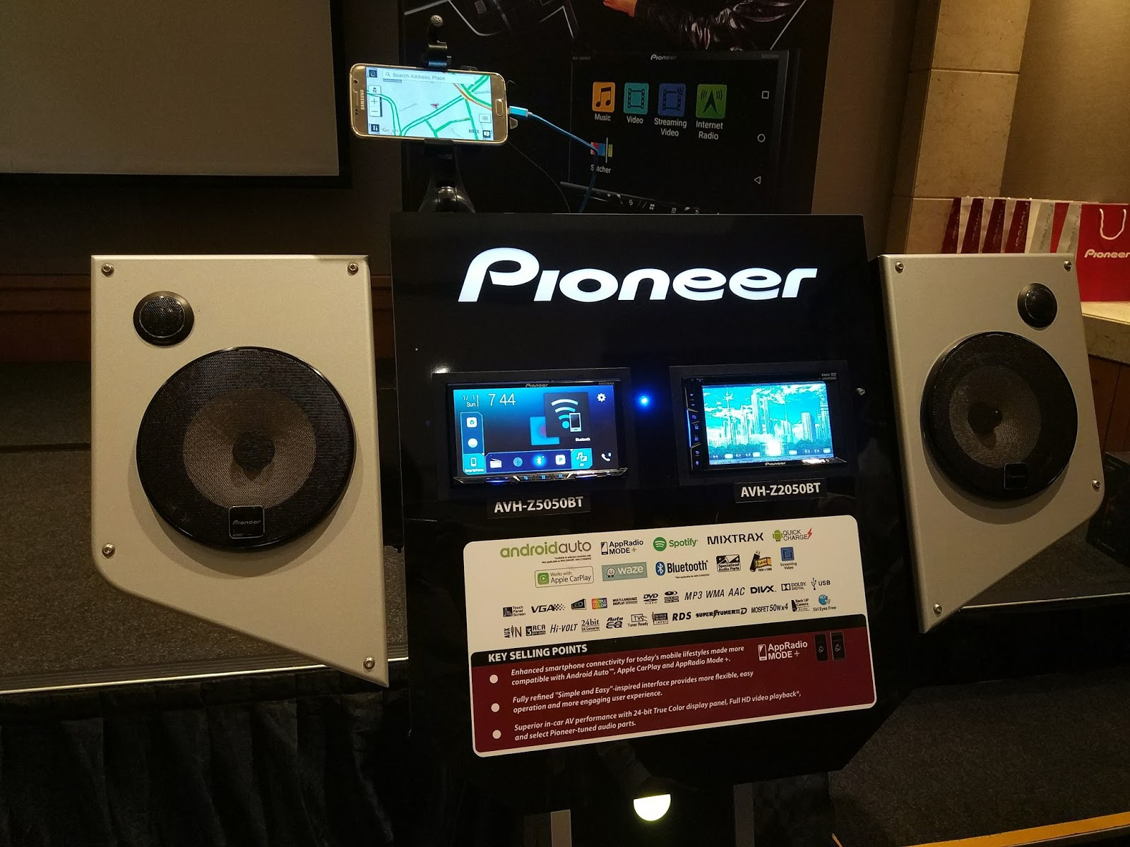 bring apple carplay and android auto to your vehicle with the new pioneer z series av receivers. Black Bedroom Furniture Sets. Home Design Ideas
