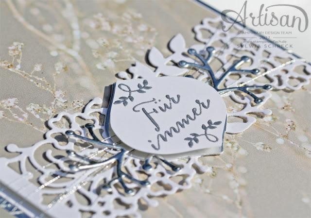 Hochzeitskarte Fuer immer von Stampin Up