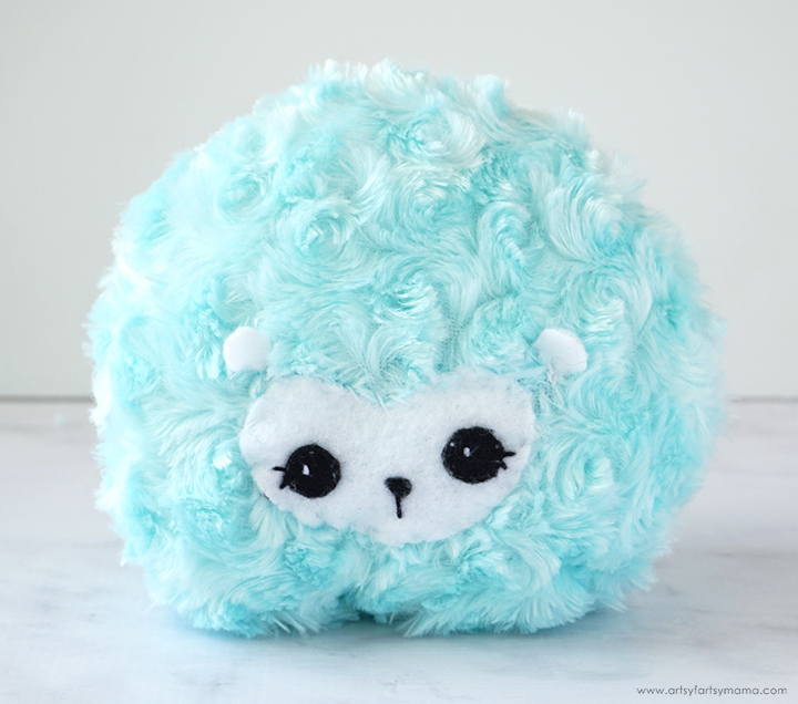 DIY Plush Harry Potter Pygmy Puff