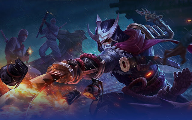 gambar mobile legends hayabusa