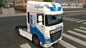 FC Magdeburg skin for DAF E6