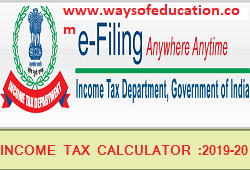 INCOME TAX CALCULATOR ANDROID APP