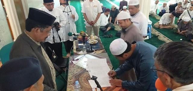 Foto Acara Pengukuhan Pengurus ANNAS Wilayah Sumbar