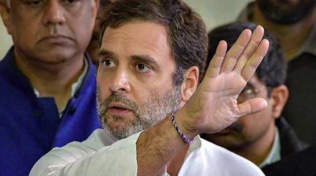 राहुल गांधी के ट्वीट के खिलाफ ट्विटर ने की कार्रवाई, पीड़िता के परिजनों की बताई थी पहचान ।
