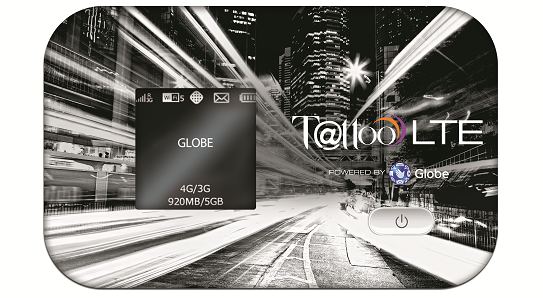 Tattoo LTE Mobile Wifi with Powerbank