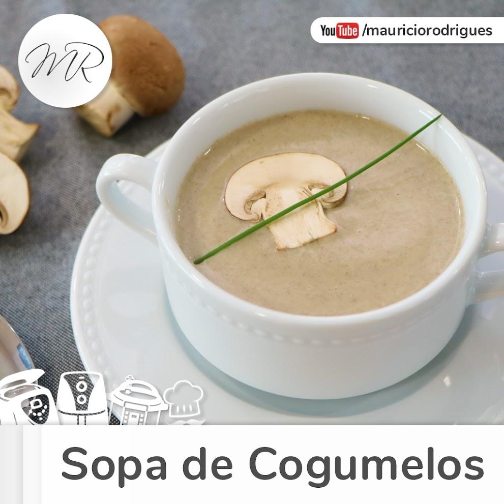 VÍDEO - Sopa de Cogumelos na Panela de Pressão Elétrica!