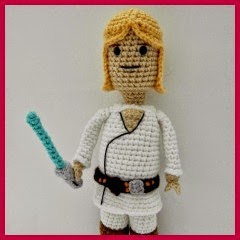 LUKE SKYWALKER VERSION LEGO AMIGURUMI