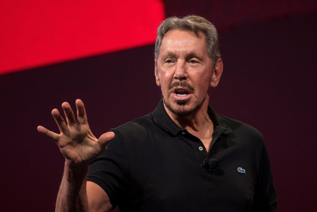 Larry Ellison: $62.5 Billion