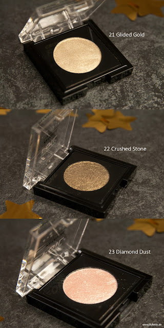 Crushed Foil - Metallic Eye Shadow - 21, 22 & 23