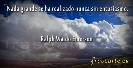 Citas motivantes de Ralph Waldo Emerson