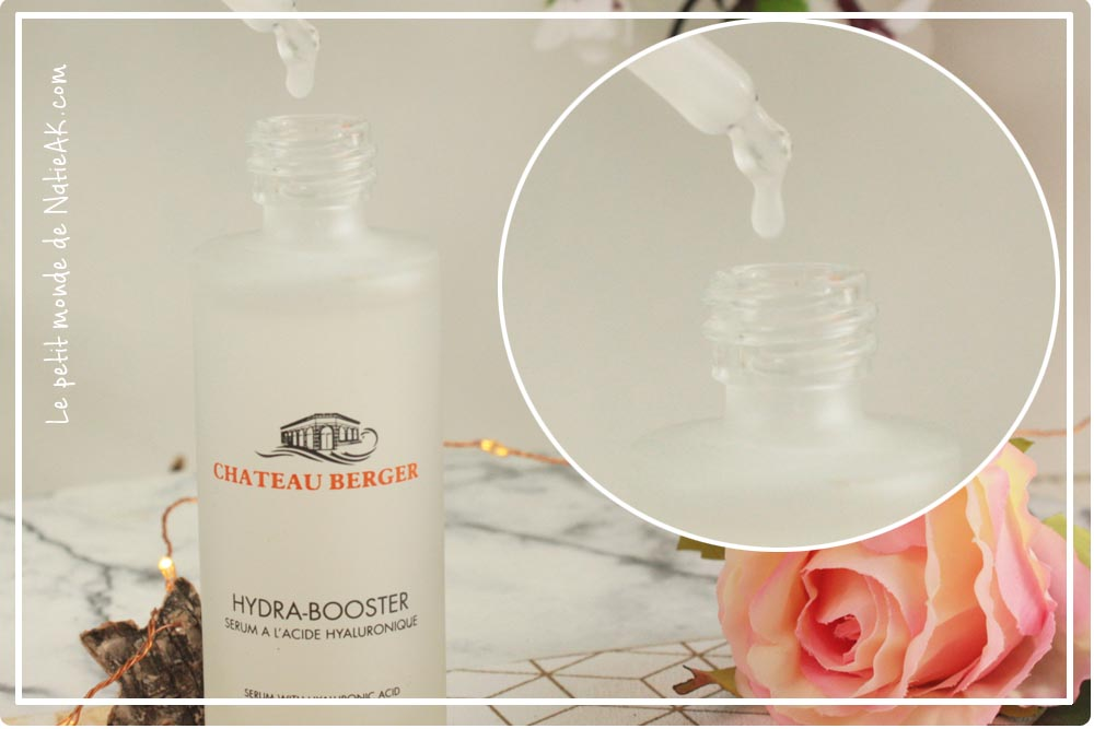 ChateauBerger sérum hydra booster