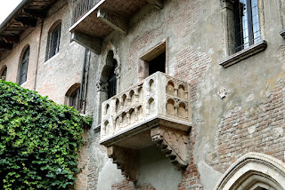 The balcony that featured in the Shakespeare play Romeo and Juliet attracts thousands of visitors