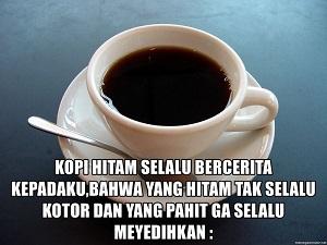 Gambar kopi lucu