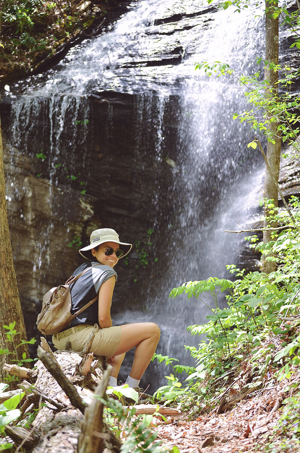 Hiking in Pisgah Forest