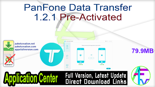 PanFone Data Transfer 1.2.1 Pre-Activated