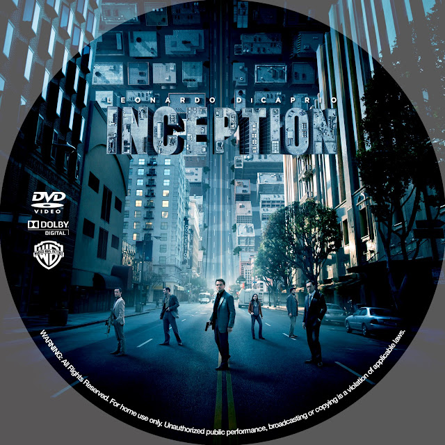 Inception DVD Label