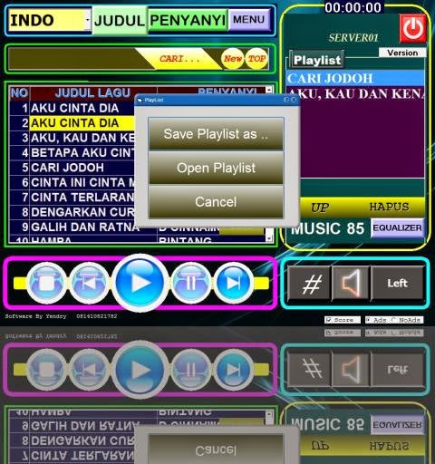 yen software karaoke versi 8.0 save play lish
