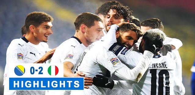 Bosnia-Herzegovina vs Italy – Highlights