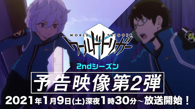 World Trigger Airs 2nd PV of New Season Anime