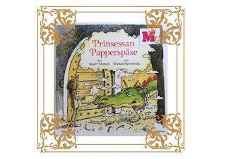 Omslagsbild på boken med förgylld ram