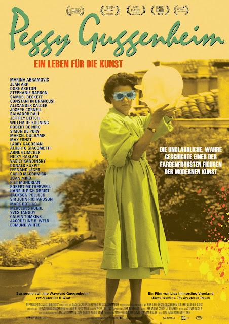 Plakat zum Film PEGGY GUGGENHEIM Ein Leben für die Kunst