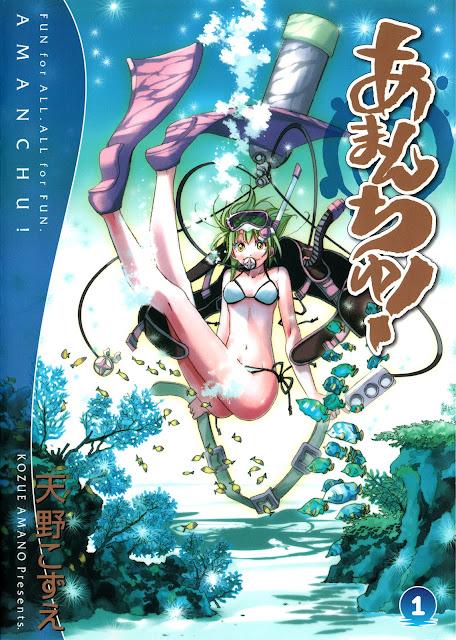 Amanchu! (Manga) - Pierwszy tom