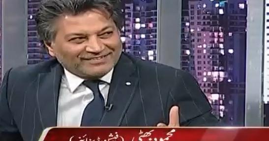 Current Pak World Mehmood Bhatti Pakistani Fashion Designer