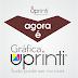 Novo logotipo da Gráfica UPrinti