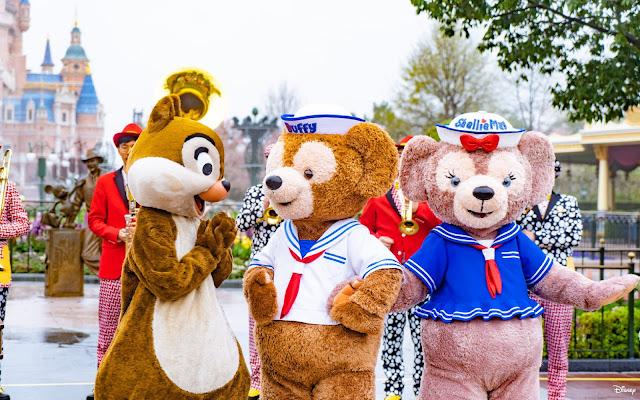 Chip-N-Dale-Birthday-Party-2021-at-Shanghai-Disneyland鋼牙, 大鼻, 奇奇, 蒂蒂, 上海迪士尼樂園