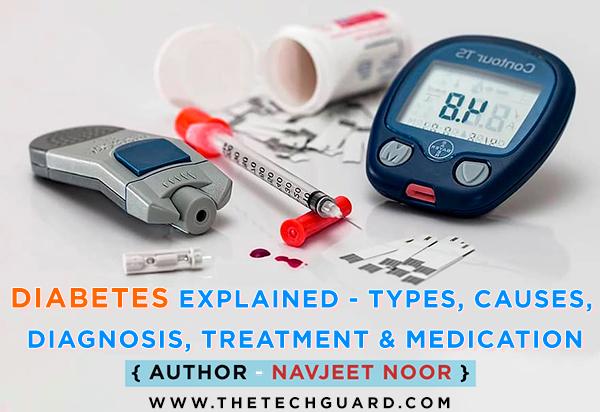 Diabetes Explained - Types, Causes, Diagnosis, Treatment, Medication