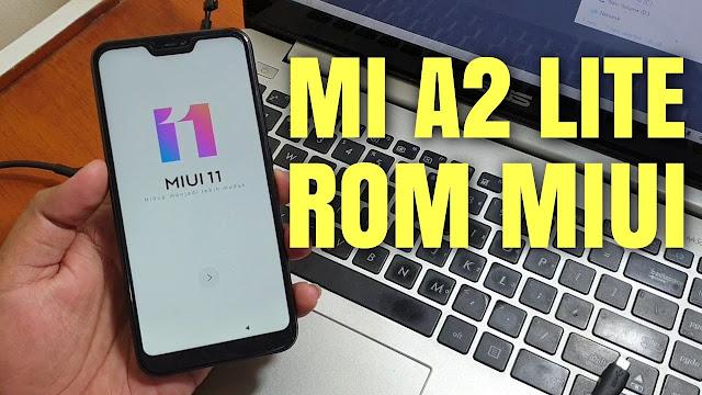 Cara Instal Rom Miui Xiaomi Mi A2 Lite Android One Jadi Miui, Mirip redmi 6 pro
