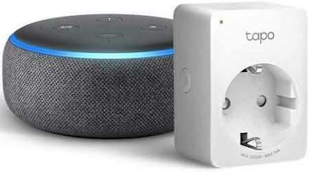 Echo Dot + Tapo P100