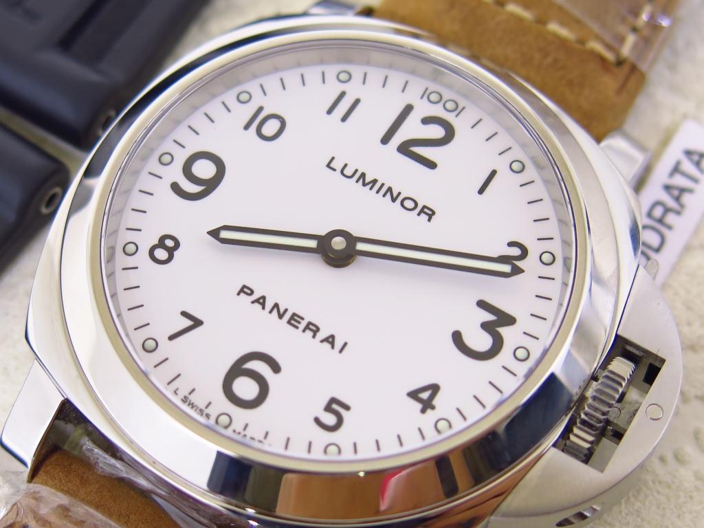 PANERAI LUMINOR WHITE DIAL PAM114 - FULLSET BOX PAPERS