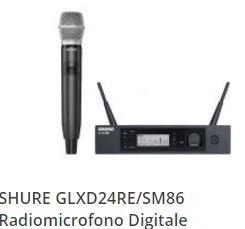 noleggio microfono digitale palmare