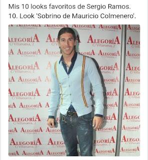 Sergio Ramos look Mauricio Colmenero