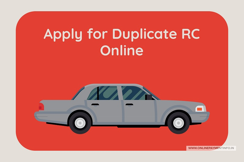 how to apply for duplicate rc online