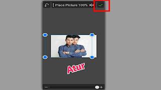 cara membuat bayangan pada foto di picsay pro