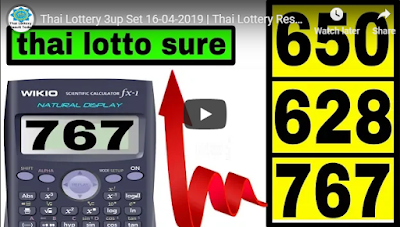 Thailand lottery sure 3up lucky number winning Tips 16 April 2019