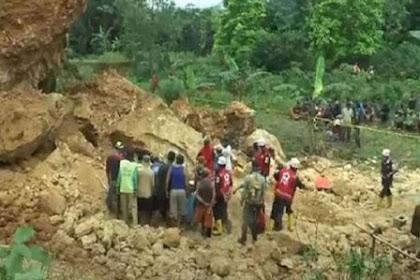 Tragis, Pekerja di Grobogan Tewas Tertimbun Batu Besar Galian C