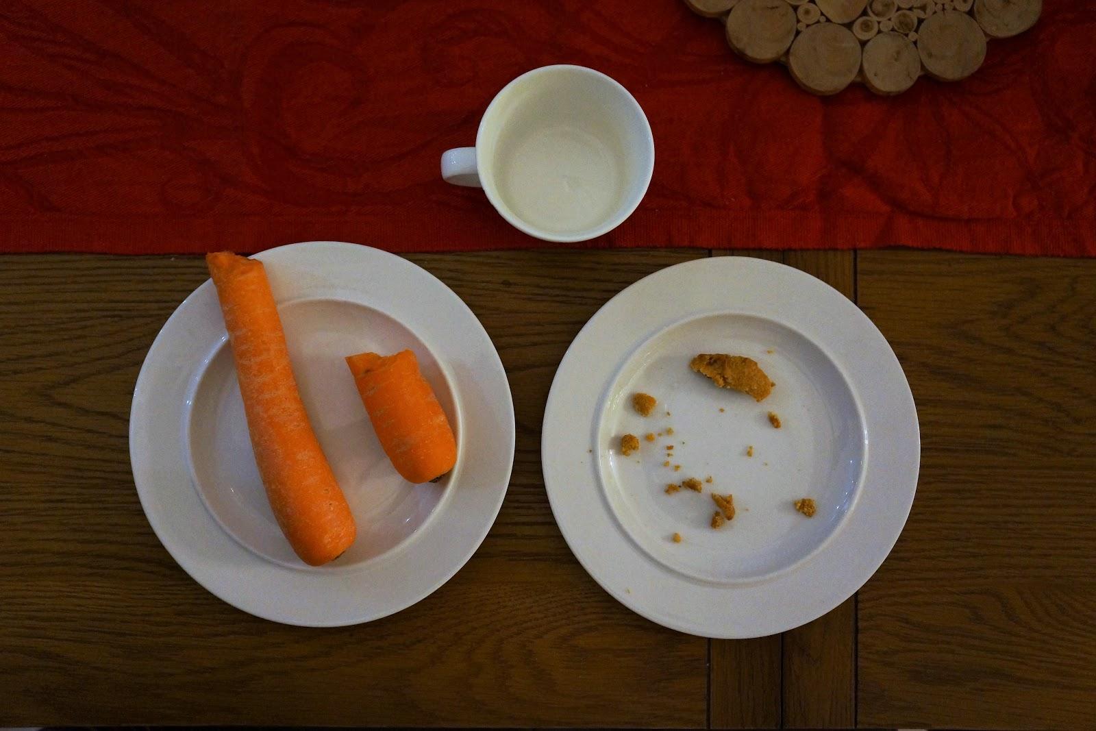 santas snack plate