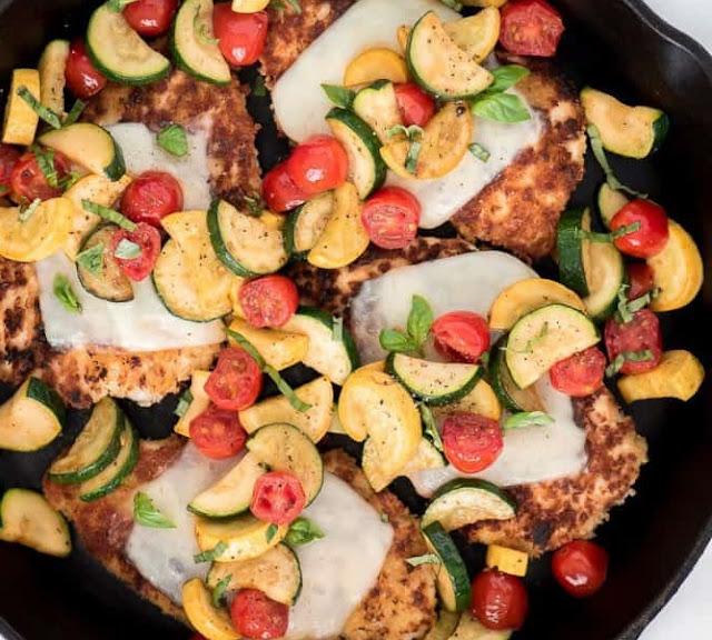 How to Make Summer chicken Parmesan