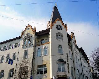 Днепр. Отель «Украина», известный как Дом Хренникова