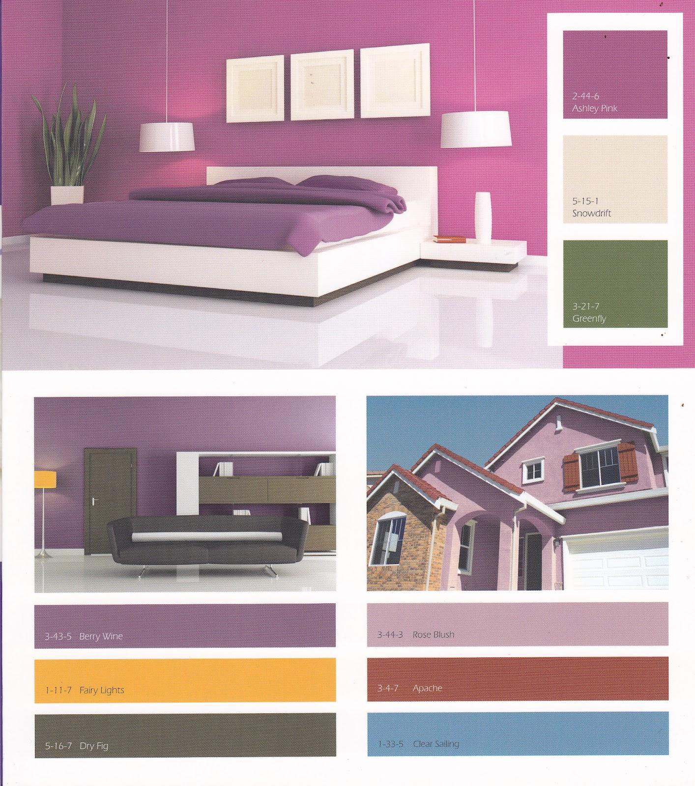 Galeri Warna Cat Dalam Rumah Terkini Informasi Desain