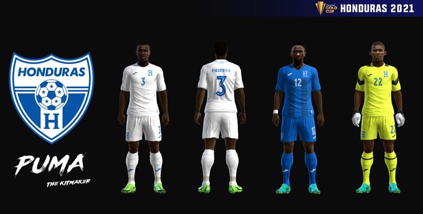 Honduras 2021 Kits For PES 2013