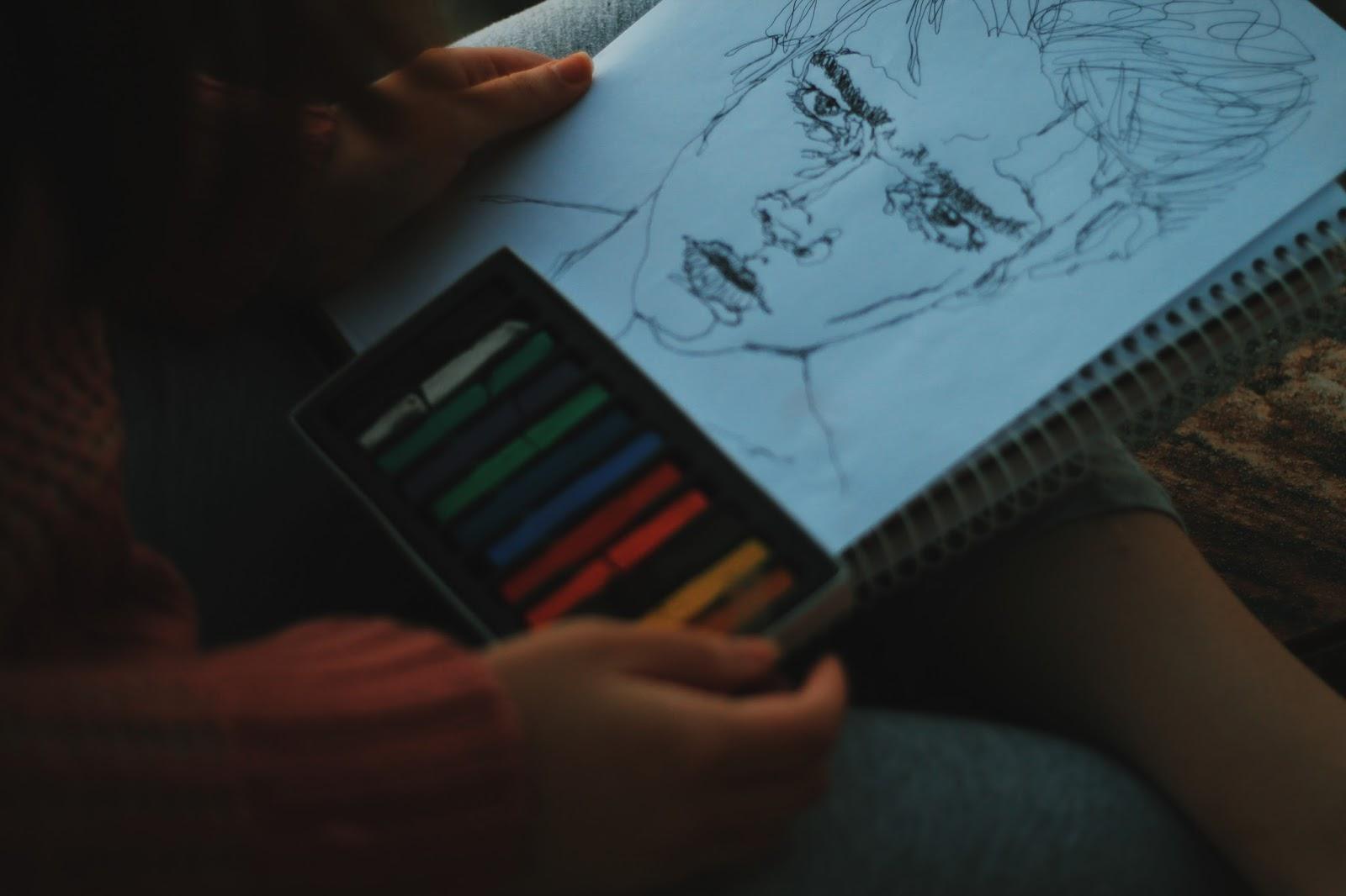 maneiras de ser mais criativo pintando e desenhando