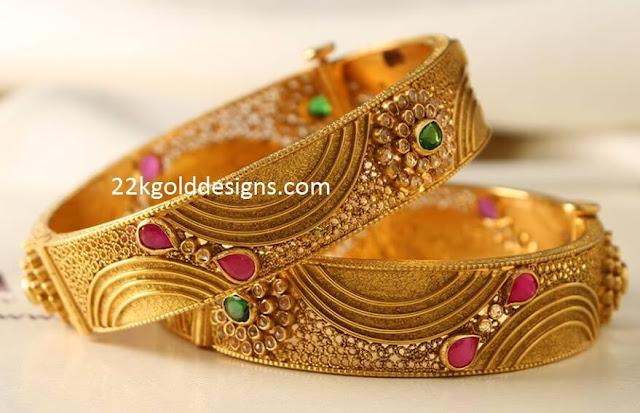 Manubhai Antique Classic Bangles